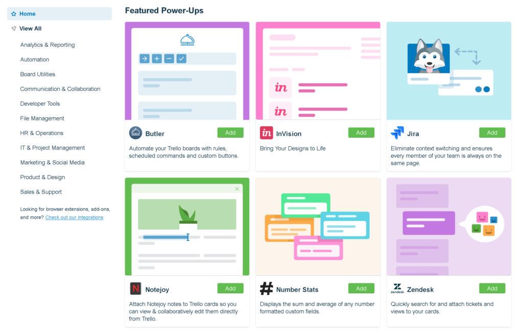 trello power ups