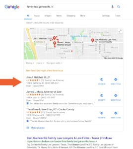 Jim J. Hatcher Google My Business Listing