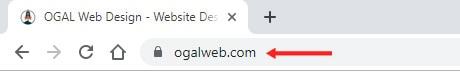 naked URL